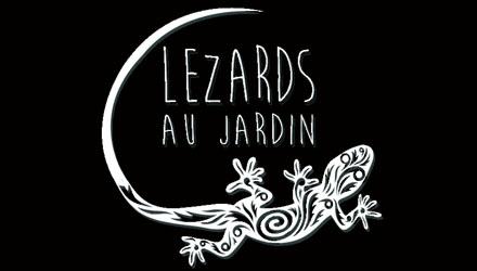 Logo Lézards au jardin