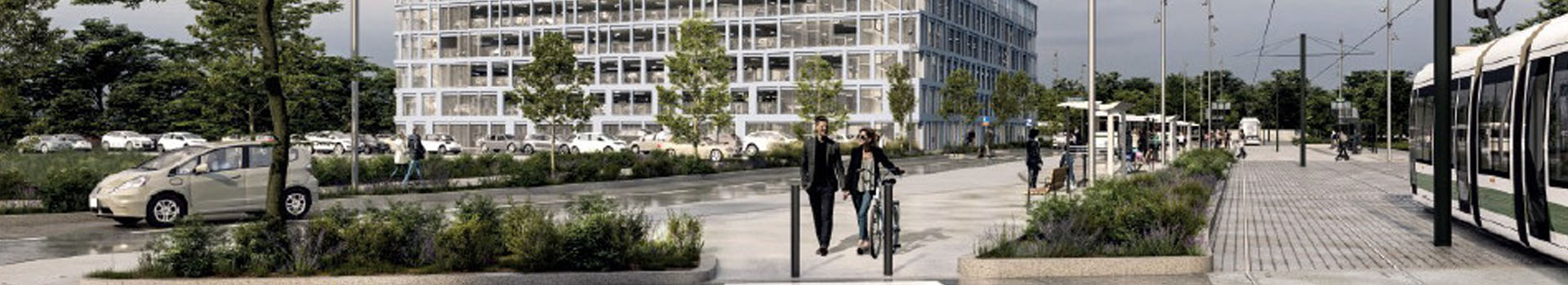 Un nouveau parking relais à la Babinière