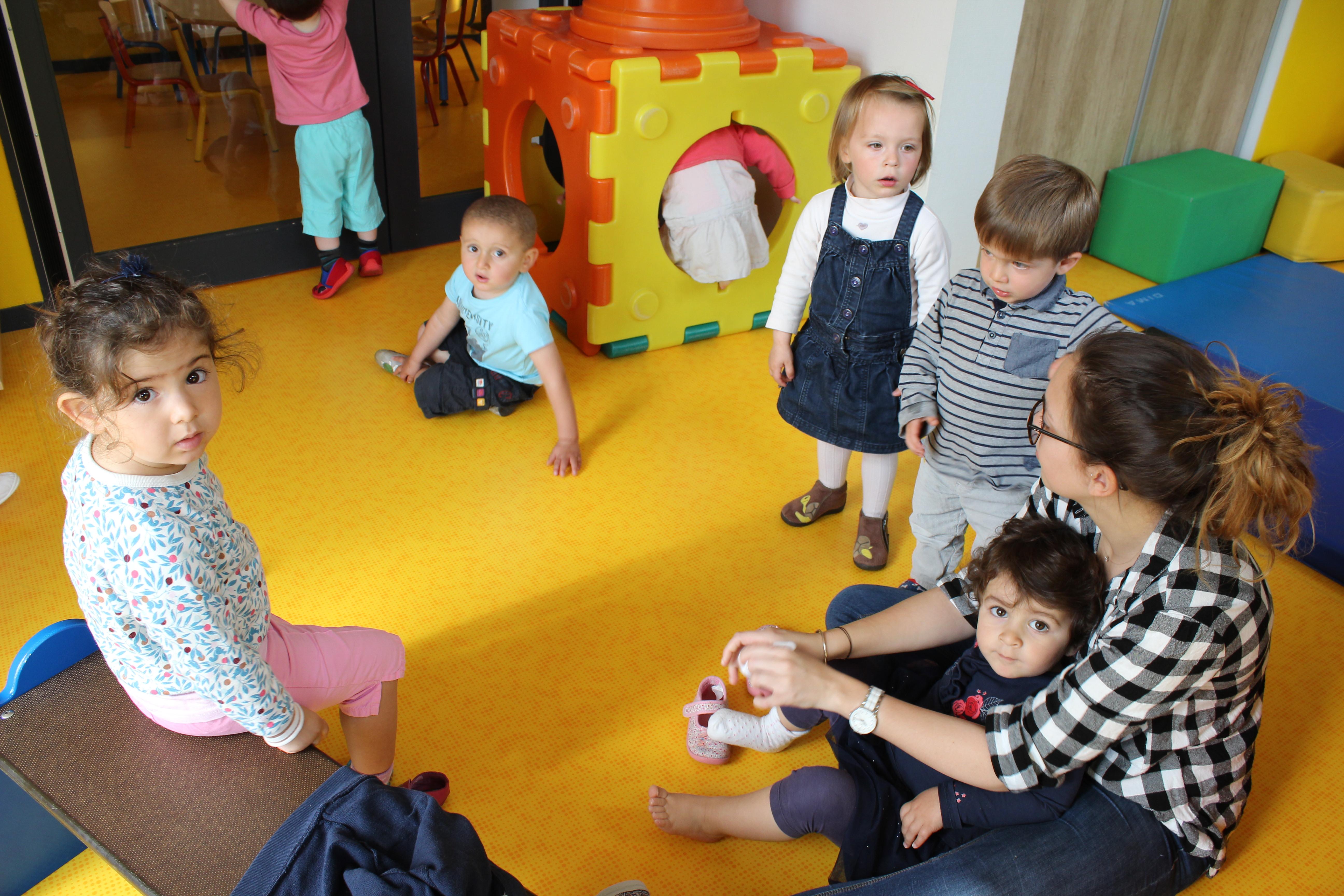 le service petite enfance