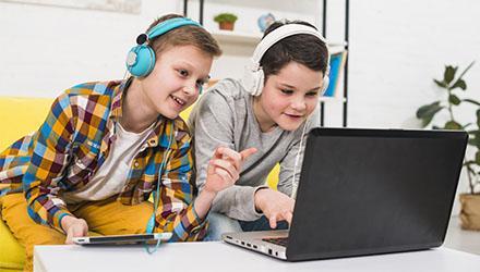Atelier jeux en ligne