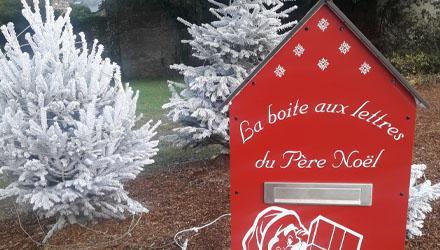 Boîte aux lettres Père Noël