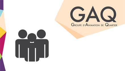 Affiche des Groupes d'Animation de Quartier