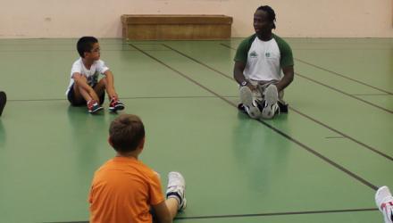 enfants à l'école du sport