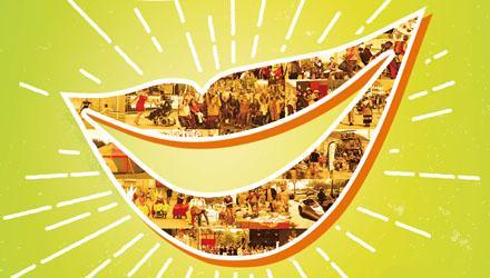 Sourire de l'affiche de la Fête du sourire