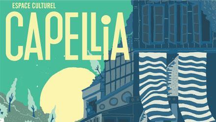 Affiche de la nouvelle saison de l'espace culturel Capellia