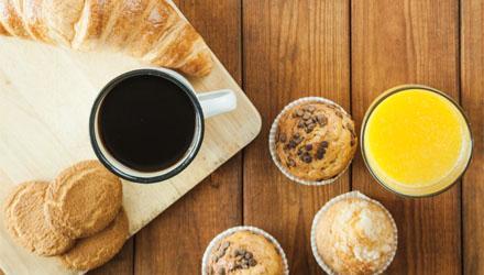 Pâtisseries de petit déjeuner