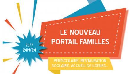 Visuel nouveau portail familles