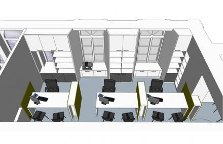 Vue 3D de l'administration générale